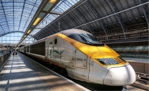 eurostar distance to Hotel Westbourne London