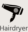 hairdryer Hotel Westbourne London