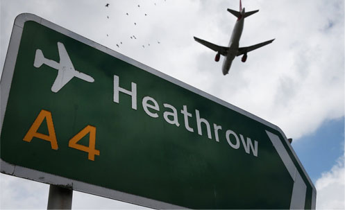 heathrow distance to Hotel Westbourne London