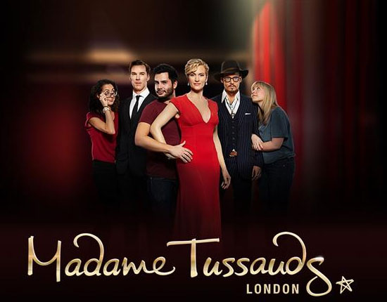 madameTussauds near Westbourne Hotel Hyde Park London