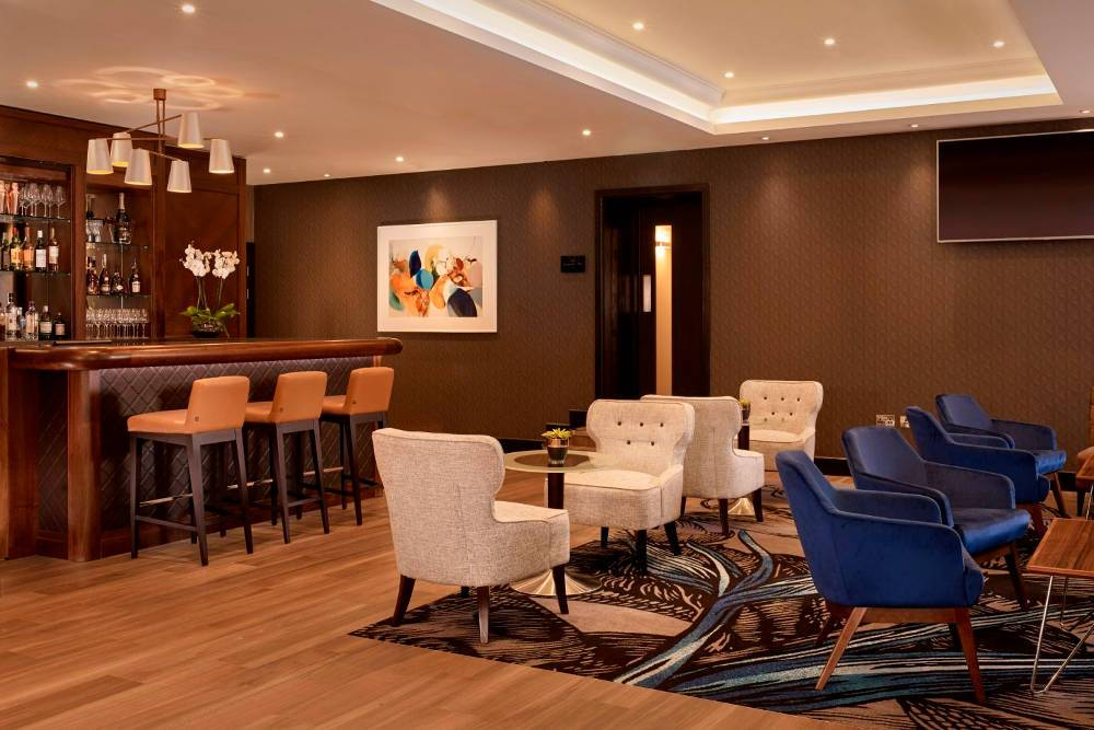hyde park Luxury lounge bar in the westbourne hotel