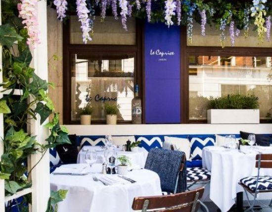 le caprice restaurant London